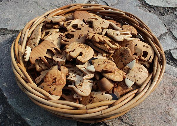 Kuva: Kotimaiset Wood Jewel -magneetit