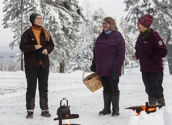 Image: Owners of Koli Shop Retkitupa and Feel Koli Marja, Hanna and Irja