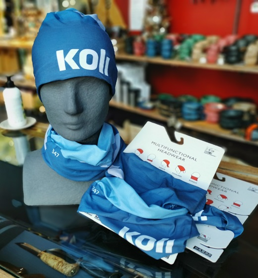 Kuva: Koli-tuubihuivi Koli Shop Retkituvalla.