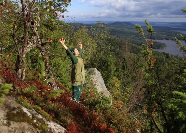 Feel Koli Koko perheen peikkoretki Kolin peikkojen maisemissa Kolin kansallispuistossa